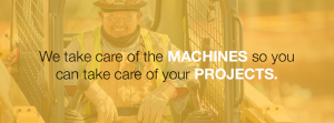 We take care of the machines so you can take care of your projects.