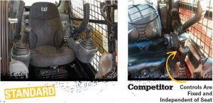 Caterpillar Skid Steer vs. Competitor