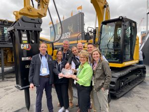 Carolina Cat wins the Equipment World 2019 Big Iron Dealer of the Year Award
