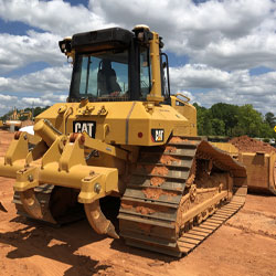 3D Grade Control services with machines from Carolina Cat