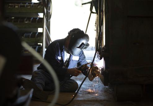 Carolina Cat Repair Shop Welding