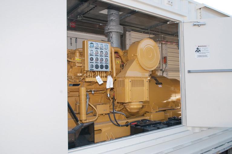 emergency back up generator